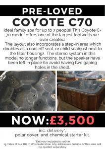 preloved – coyote c70