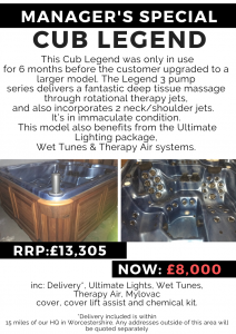 managers special – cub legend