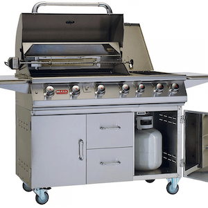 Complete Grilling Cart